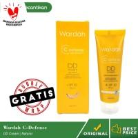 Wardah C Defense DD Cream Natural / Alas Bedak / C Defense DD Cream