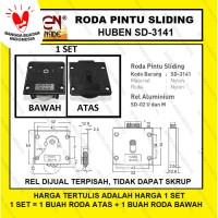 Roda Pintu Lemari Sliding / Geser HUBEN SD-3141 Roda Pintu Sliding