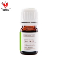 Organic Supply Co - Tea Tree Essential Oil Organic - 10ml