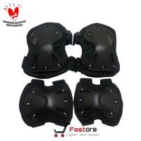 1 set Deker Army / Pelindung Siku Lutut / Dekker Airsoft Sepeda Motor