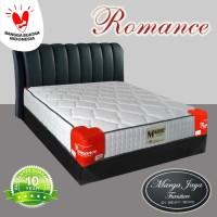 Kasur Spring Bed ROMANCE set uk 160 x 200 cm berikut divan dan sandara