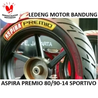 Premio 80/90-14 Sportivo Ban Tubeless Aspira Duo Massimo Motor Matic