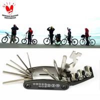 Kunci sepeda multifungsi - Obeng repair tool set sepeda