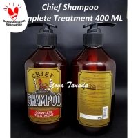CHIEF SHAMPOO COMPLETE TREATMENT 400 ML PEMBERSIH POMADE OILBASED