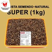 Kopi Biji Sangrai Robusta Semendo Super ( 1kg )