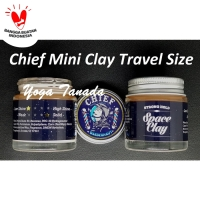 POMADE CHIEF MINI BARBERNAUT SPACE CLAY MATTE TRAVEL SIZE (FREE SISIR)