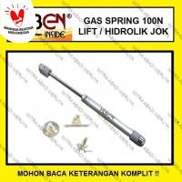 Gas Spring Huben Hidrolik Jok Motor 100 N Hidrolik Lemari Cabinet