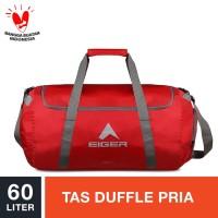 Eiger Concisor Folded Duffle Bag 60L - Red / Tas Duffle Pria