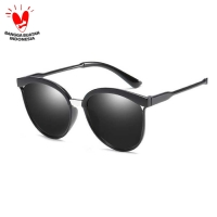 Kacamata Vintage Cat Eye Wanita Sunglasses UV Protection - 15940