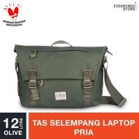 Eiger 1989 Wanderer Shoulder Bag 12 Laptop Shoulder Bag 12L - Olive