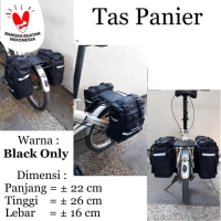 Tas Panier Bagasi Sepeda Lipat SH 001