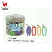 KEY RING JOYKO KR 8 ISI 50 / GANTUNGAN KUNCI / NAME TAG KUNCI