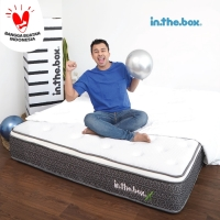 Kasur Spring Bed Inthebox X Ukuran 90 x 200 (single) FREE SHIPPING