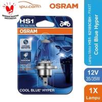 Osram Lampu Motor HS1/H4 62185CBH 12V 35/35  PX43T - Cool Blue Hyper