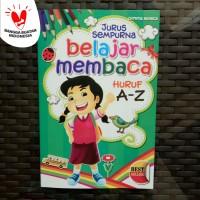 Buku Anak TK PAUD - Belajar Membaca Huruf A-Z