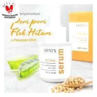 Ertos Retinol Serum Flek Hitam Anti Aging Mengecilkan Pori Wajah 20 ml