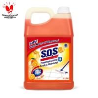 SOS Pembersih Lantai Jerigen Orange Splash-Jingga [4 Liter]