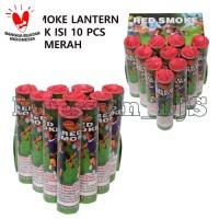 RED SMOKE - SUPPORTER SMOKE - SMOKE BOMB khusus merah 1 pak isi 10