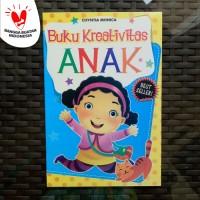 Buku Anak - Buku Kreativitas Anak, belajar menulis membaca menghitung