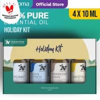 Nusaroma Holiday Kit Essential Oil - Paket isi 4 x 10ML