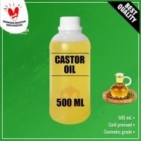 Castor Oil Pure 500 ml // Minyak Jarak 500 ml // Penumbuh rambut