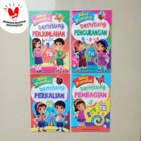Buku Anak - Belajar Penjumlahan Pengurangan Perkalian Pembagian, BI