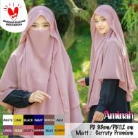 Jilbab Hijab Bergo Khimar Cadar Niqab Purdah Aminah Syari Instan Murah