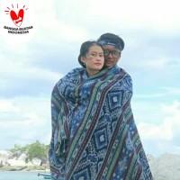 Kain tenun ikat blanket etnik lombok original handmade TB112