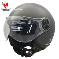Cargloss YR Ghotic Helm Half Face - Gun Metal SG