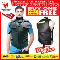 Buy 1 Get 1 Free | Rompi Kerah | Sleting RS60 | Body Protector