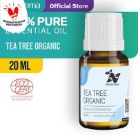 Nusaroma Tea Tree Organic Essential Oil - 20 ML