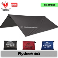 Flysheet 3x4 Traptent Tenda Darurat Waterproof 4x3