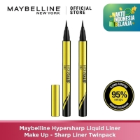 Maybelline Hypersharp Liquid Liner Make Up – Sharp Liner Twinpack