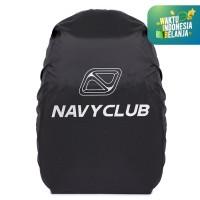 Navy Club Bag Cover / Raincoat Bag / Jas Hujan Tas Black Up To 21-23 L