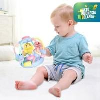 Mainan Anak RATTLE TEETHER BALL CUTE CHICK/Rattle Bola Bentuk Ayam