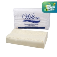 Willow Pillow Ergonomic Jumbo Latex Cover Knitting
