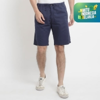 Papperdine Eazy Pacific Blue Short Pants Stretch Chinos Celana Jeans P