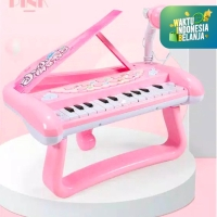 Mainan Anak Set Piano Mini dengan Mic ~ MINI PIANO LITTLE PIANIST