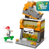 Mainan Anak DIY Building Block LELE BROTHER - Lego Mini Street View
