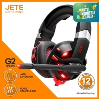 HEADSET | HEADPHONE | HANDSFREE | EARPHONE GAMING JETE-G2