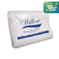 Bantal Latex Ergonomic Small / Willow Pillow Ergonomic Small Latex