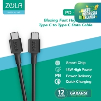 ZOLA Cable Power Delivery (PD) 100cm Cable USB Type C to USB Type C