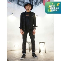 313 Celana Panjang Jeans Pria Selvedge Slim Fit Raw Sanforized 14 OZ