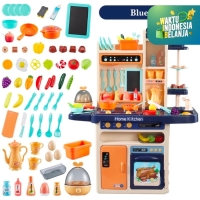 Mainan Anak Simulasi Perkakas Memasak/Kitchen Set ~ HOME KITCHEN 65pcs
