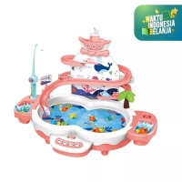 Mainan Anak Pancingan Ikan ~ MULTIFUNCTIONAL 3in1 FISHING ~ DOLPHIN