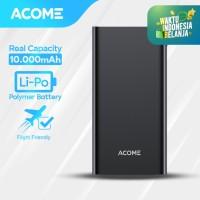 ACOME Powerbank 10000mAh 2 USB Output - Garansi Resmi 18 Bulan - AP103