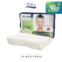 Bantal Memory Foam Anti Aging / Willow Pillopedic Anti Aging
