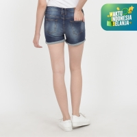 Papperdine 1503 Enzyme Ladies Hot Pants Celana Pendek Jeans Wanita