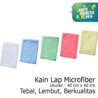 Lap Microfiber Kain Microfiber Lap Handuk Tebal 40x40 100019 Cleanmati