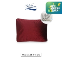 Sarung Bantal Polos 35x45 Back Cushion